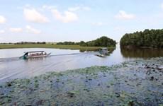 Đầu tư 90 tỷ đồng phát triển du lịch Vườn Quốc gia Tràm Chim