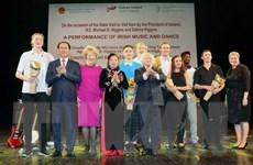 Chương trình nghệ thuật kỷ niệm 20 năm hữu nghị Việt Nam-Ireland