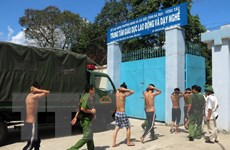 Vụ trốn trại tại Bà Rịa-Vũng Tàu: Bắt tạm giam 2 học viên cầm đầu