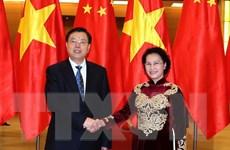 Ủy viên trưởng Nhân đại Trung Quốc kết thúc chuyến thăm Việt Nam