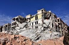 Hơn 100 người thiệt mạng trong các vụ không kích mới tại Aleppo