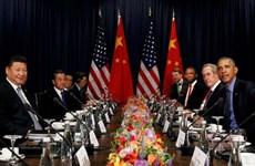 Mỹ-Trung nhất trí duy trì đà phát triển quan hệ song phương