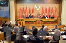 Ông Ivan Brajovic được bầu làm Chủ tịch Quốc hội Montenegro