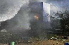 Ấn Độ: Cháy nhà máy sản xuất thuốc nổ, gần 30 người thương vong