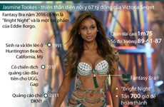 [Infographics] Jasmine Tookes - Thiên thần diện nội y 67 tỷ đồng
