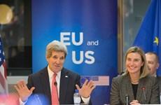 Mỹ và EU ký thỏa thuận trao đổi dịch vụ hậu cần quân sự