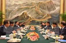 Trưởng ban Tổ chức Trung ương Phạm Minh Chính thăm Trung Quốc