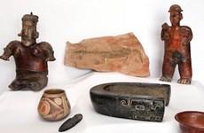 Mexico thu hồi 12 cổ vật bị đánh cắp và buôn lậu ra nước ngoài