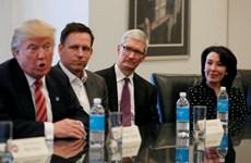 """Tổng thống đắc cử Mỹ hướng tới các """"đại gia"""" ở Thung lũng Silicon"""