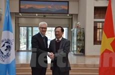 Đoàn Bộ Công an Việt Nam thăm, làm việc với Ban Tổng thư ký Interpol