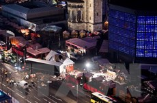 Lãnh đạo nhà nước chia buồn vụ tấn công chợ Giáng sinh ở Berlin
