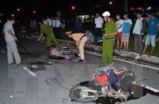 Bình Phước: Uống rượu gây tai nạn, ba người bị thương nặng