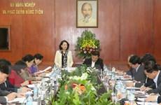 Đoàn kiểm tra Bộ Chính trị làm việc với Ban Cán sự Đảng Bộ NN & PTNT