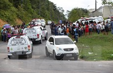 Hơn 180 tù nhân trốn thoát trong vụ bạo loạn tại nhà tù Brazil