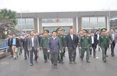 Phó Thủ tướng thị sát chống buôn lậu tại cửa khẩu Lào Cai
