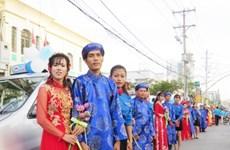 Cảm động lễ cưới tập thể cho người lao động nghèo Sóc Trăng