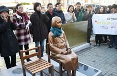 """Ngoại trưởng Hàn Quốc phản đối đặt tượng """"phụ nữ mua vui"""""""
