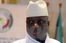 Tổng thống Gambia yêu cầu tòa án cấm Tổng thống đắc cử nhậm chức