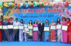 Xuân đến sớm với cộng đồng người Việt tại Malaysia