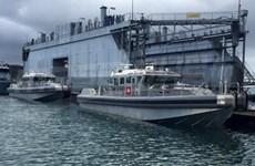Mỹ bàn giao thêm hai tàu tuần tra cho quân đội Tunisia
