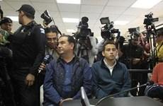 Guatemala bắt giữ anh trai và con của Tổng thống Morales