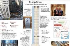 [Infographics] Những điều chưa biết về tòa tháp Trump tráng lệ