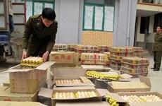 Quảng Ninh: Bắt giữ và tiêu hủy 36.000 quả trứng gà nhập lậu