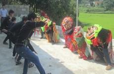 Đặc sắc điệu múa sư tử mèo của đồng bào Nùng ở xứ Lạng