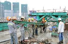 Sức Xuân trên đại công trường xây dựng tuyến Metro số 1