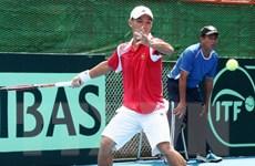 Hoàng Thiên thất bại trong trận đầu tiên vòng loại Davis Cup 2017