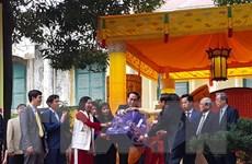 Lễ dâng hương khai Xuân Đinh Dậu 2017 tại Hoàng thành Thăng Long