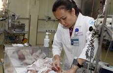 Cứu sống trẻ sơ sinh 2 ngày tuổi khỏi khối bướu máu khổng lồ
