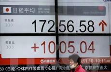 Chứng khoán châu Á tăng lên mức cao nhất trong hơn 18 tháng
