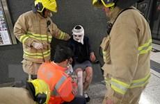 Hong Kong: Hành khách phóng hỏa, cố tự thiêu trên tàu điện ngầm