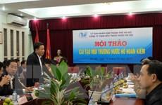 Hà Nội: Tập hợp ý kiến cải tạo môi trường nước hồ Hoàn Kiếm