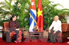 Các hoạt động của Phó Chủ tịch Quốc hội Tòng Thị Phóng tại Cuba