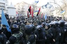 Đụng độ giữa cảnh sát và người ủng hộ phong trào Maidan tại Kiev
