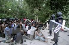 EU thúc đẩy đàm phán với Ai Cập và Tunisia về người di cư