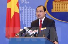 Việt Nam yêu cầu không làm phức tạp thêm tình hình Biển Đông