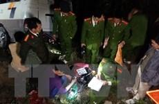 Xác định nguyên nhân ban đầu vụ xe khách lao xuống vực ở Lào Cai