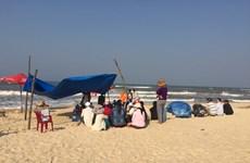 Sinh viên Đại học Nông lâm Huế mất tích khi đi tắm biển