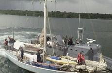 Ba nước ASEAN tuần tra chung ở những vùng biển dễ bị hải tặc tấn công