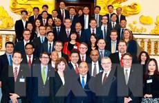 Thủ tướng Nguyễn Xuân Phúc tiếp đoàn doanh nghiệp Hoa Kỳ