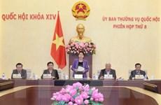 Thông cáo Phiên họp thứ 8 của Ủy ban thường vụ Quốc hội
