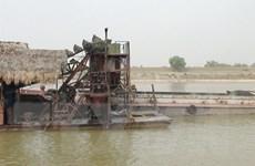 Bộ Giao thông Vận tải báo cáo Thủ tướng dự án nạo vét luồng sông Cầu