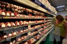 Kim ngạch xuất khẩu thịt bò của Brazil trong trạng thái rơi tự do