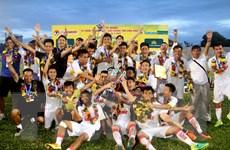 Hà Nội bảo vệ thành công ngôi vô địch Giải U19 quốc gia 2017