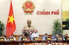 Chính phủ họp chuyên đề về công tác xây dựng pháp luật