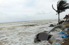 Khẩn trương tìm kiếm ngư dân mất tích ở khu vực biển Cửa Đại