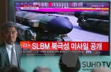 Hàn Quốc: Triều Tiên trình diễn tên lửa đạn đạo liên lục địa mới